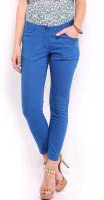 Mirage Regular Fit Women's Blue Trousers