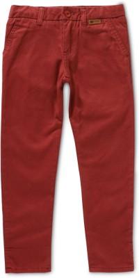 Ben Sherman Regular Fit Boy's Red Trousers