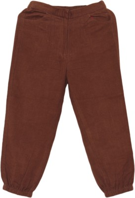 My Little Lambs Regular Fit Girls Brown Trousers