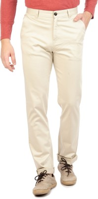 Sting Regular Fit Men's Cream Trousers