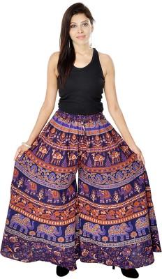 Jaipuri Bandhej Regular Fit Women's Multicolor Trousers