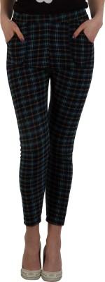 GUDS Skinny Fit Women's Multicolor Trousers