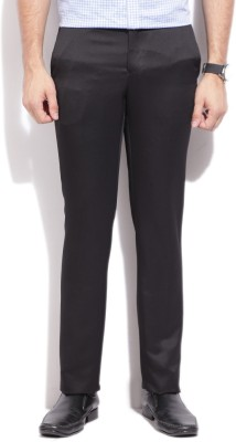V Dot by Van Heusen Skinny Fit Mens Black Trousers