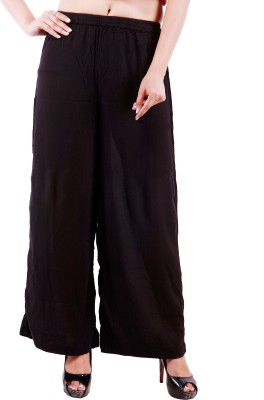 Goodwill Impex Regular Fit Womens Black Trousers