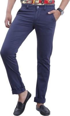 Devis Regular Fit Men's Blue Trousers