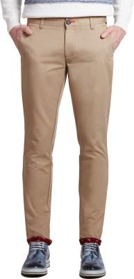 Specimen Slim Fit Men's Beige Trousers