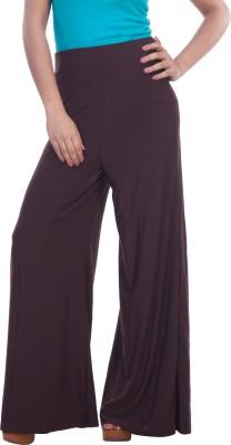 TrendBAE Regular Fit Women's Brown Trousers