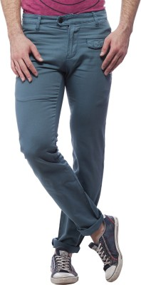 Nana Judy Slim Fit Men's Green Trousers