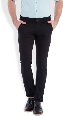 Bandit Slim Fit Men,s Black Trousers