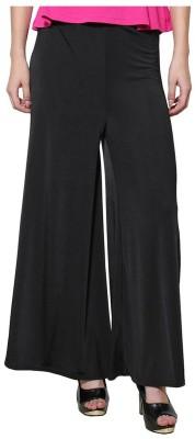 Unitedway Regular Fit Women's Black Trousers