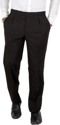 Follow Up Slim Fit Men's Brown Trousers