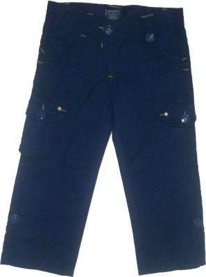 Red Rose Regular Fit Boy's Blue Trousers