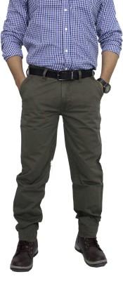 Babas wear Regular Fit Men's Green, Blue Trousers