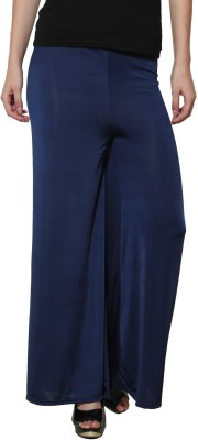 Both11 Regular Fit Women's Blue Trousers
