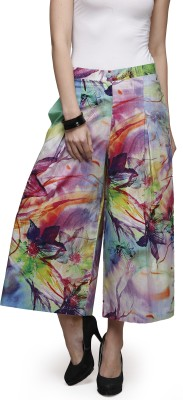 Glam And Luxe Regular Fit Women,s Purple Trousers