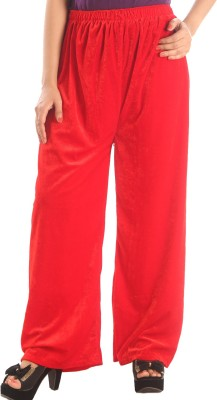 Stay Blessed Regular Fit Women's Pink Trousers