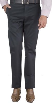 Barrier Reef Slim Fit Men's Black Trousers