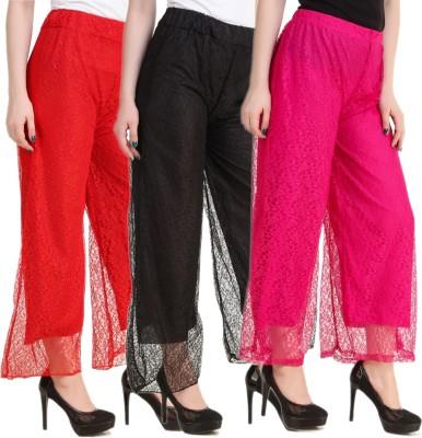 Kritika's World Slim Fit Women's Multicolor Trousers