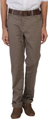 Being Human Slim Fit Men's Grey Trousers