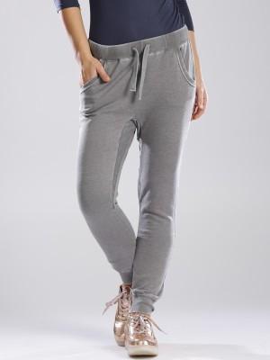 GAS Regular Fit Women's Grey Trousers