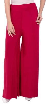 diva boutique Regular Fit Womens Maroon Trousers