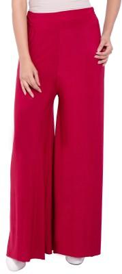 diva boutique Regular Fit Women's Maroon Trousers
