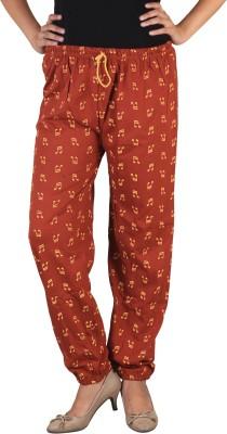 indian street fashion Regular Fit Women's Orange Trousers