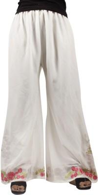 Taraz Regular Fit Women's Pink Trousers