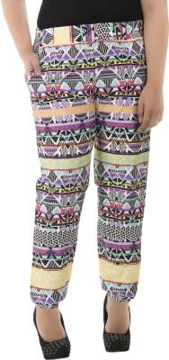 LastInch Regular Fit Women's Multicolor Trousers