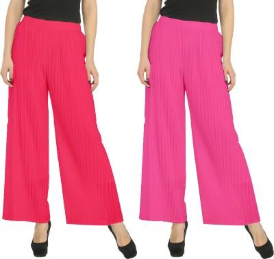 Civilized Showdown Regular Fit Women's Pink, Pink Trousers