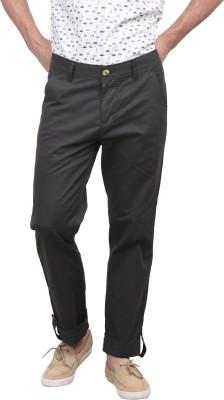 Srota Slim Fit Men's Dark Green Trousers