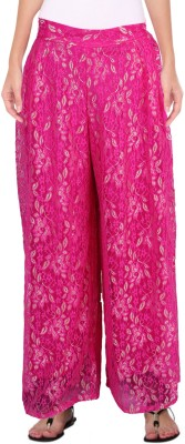 Casam Regular Fit Men's Pink Trousers