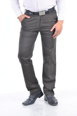 Rapid Regular Fit Men's Black Trousers