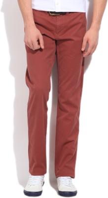 Gant Slim Fit Men's Red Trousers