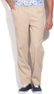 Killer Regular Fit Men,s Beige Trousers
