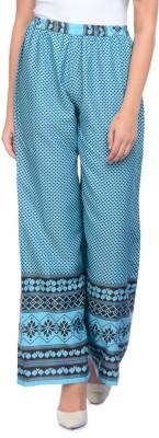 Modattire Regular Fit Women's Blue Trousers