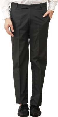 Histeria Regular Fit Men's Black Trousers