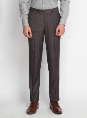 SUITLTD Slim Fit Men's Grey Trousers