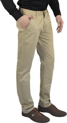Club Vintage Slim Fit Men's Beige Trousers