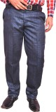 Larwa Fashion Regular Fit Men's Blue Tro...