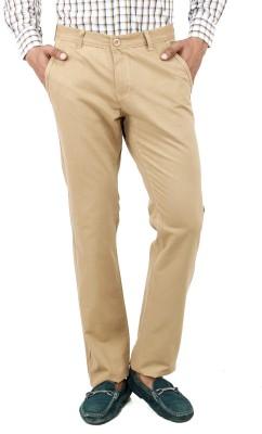 Uber Urban Regular Fit Men's Beige Trousers