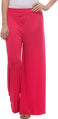 TeeMoods Regular Fit Women's Pink Trousers
