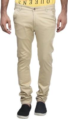 Trendy Trotters Regular Fit Men's Beige Trousers