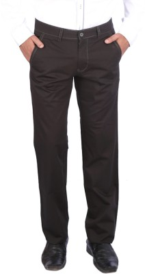 Appollo Slim Fit Men's Grey Trousers