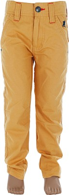 Ice Boys Regular Fit Boy's Yellow Trousers