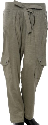 Starsy Regular Fit Boys Brown Trousers