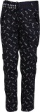Crazeis Regular Fit Boys Black Trousers