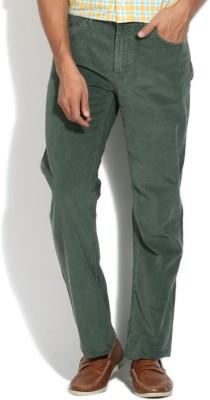 Gant Regular Fit Men's Green Trousers