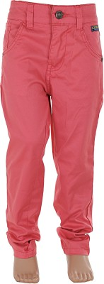 Ice Boys Regular Fit Boy's Pink Trousers