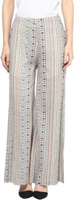 Taurus Regular Fit Women's Cream Trousers